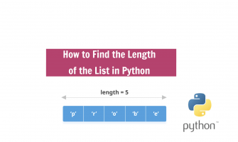 length of list in python