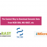 Download data from NCBI SRA MG-RAST